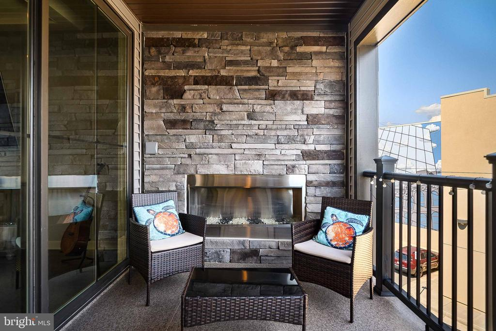 Balcony with Fireplace - 20454 TAFT TER, ASHBURN