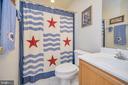 Lower level full bath - 106 CONFEDERATE CIR, LOCUST GROVE