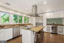 Open Kitchen with 10 Windows - 3421 STONEYBRAE DR, FALLS CHURCH
