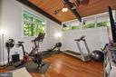 Fourth Bedroom/Exercise Room - 3421 STONEYBRAE DR, FALLS CHURCH