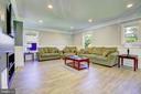 Living Room - 10351 SCAGGSVILLE RD, LAUREL