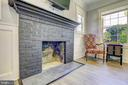 Fireplace - 10351 SCAGGSVILLE RD, LAUREL