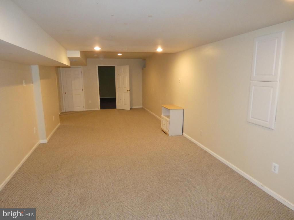 Basement recreation room view toward room #2 - 43114 LLEWELLYN CT, LEESBURG