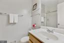 Hall Bath - 4023 CHESTERWOOD DR, SILVER SPRING