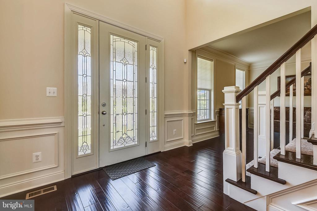Beautiful front door and sidelights an upgrade - 22602 PINKHORN WAY, ASHBURN
