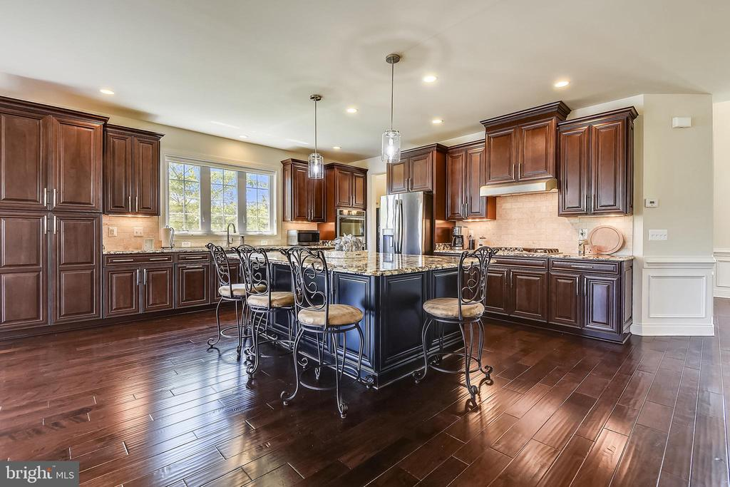 It's all about the kitchen - the heart of the home - 22602 PINKHORN WAY, ASHBURN