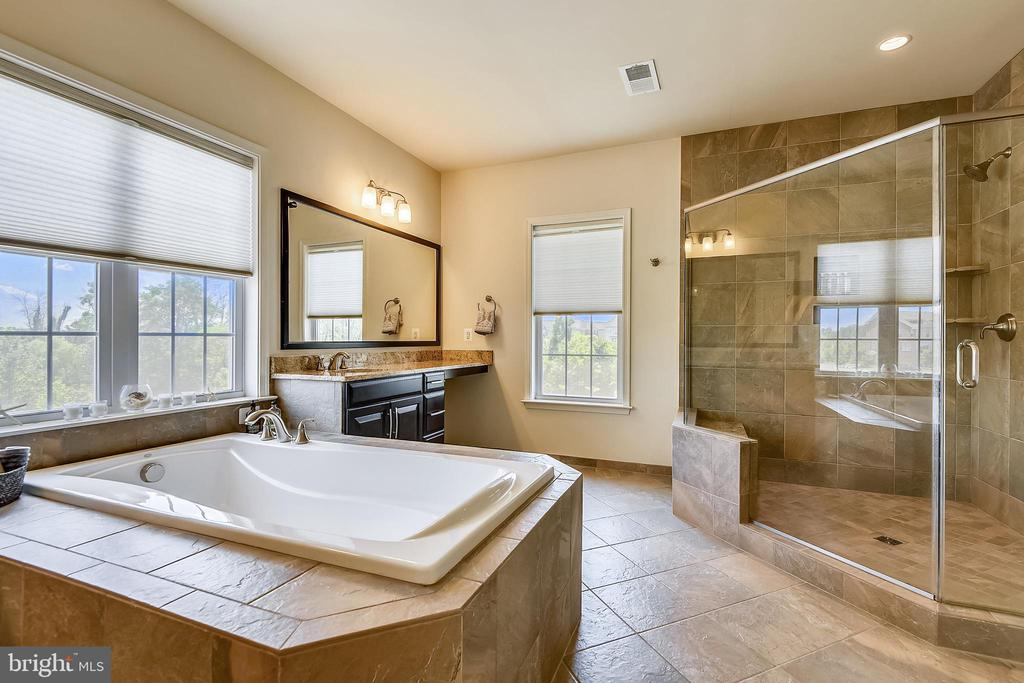 You will enjoy this Master Bath more than you know - 22602 PINKHORN WAY, ASHBURN