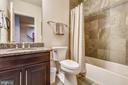 Lower Level Full Bath - 22602 PINKHORN WAY, ASHBURN