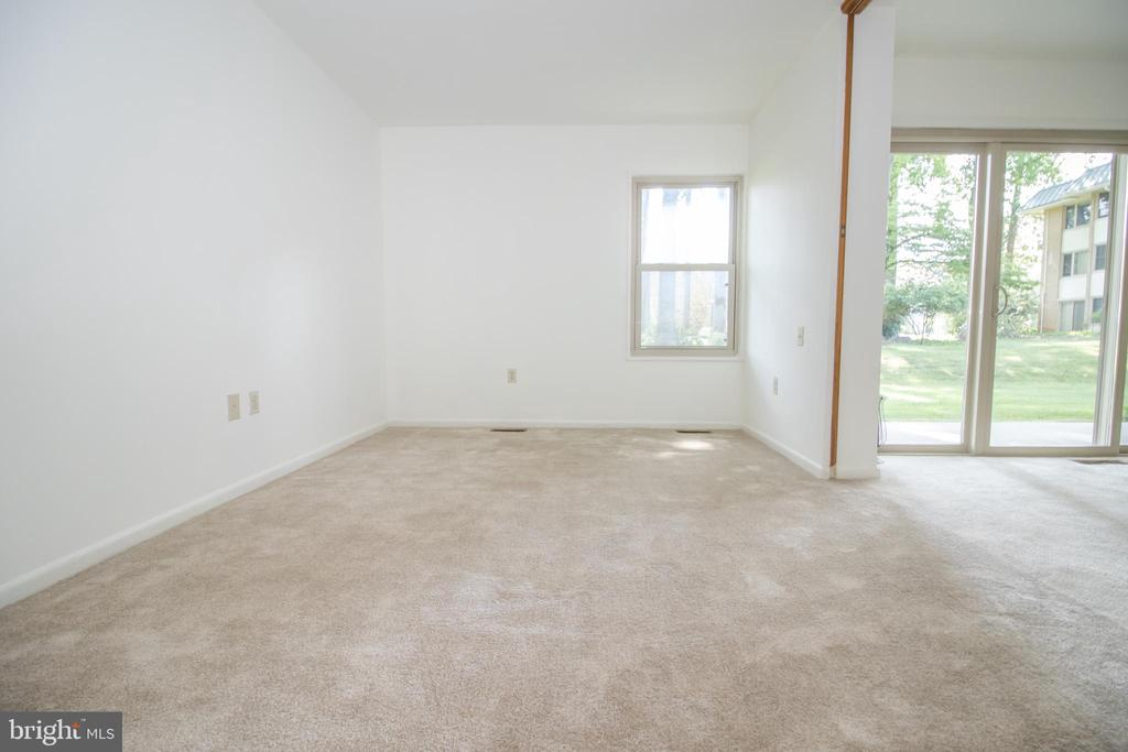 Bedroom  into Living room - 3618 GLENEAGLES DR #7-1G, SILVER SPRING