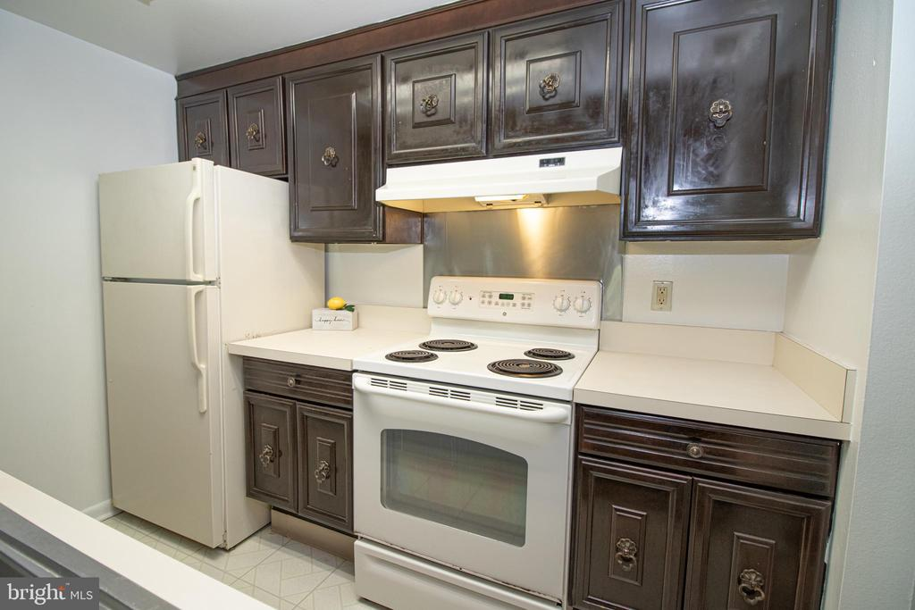 Kitchen - 3618 GLENEAGLES DR #7-1G, SILVER SPRING