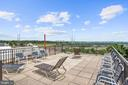 Community rooftop - 1300 ARMY NAVY DR #225, ARLINGTON