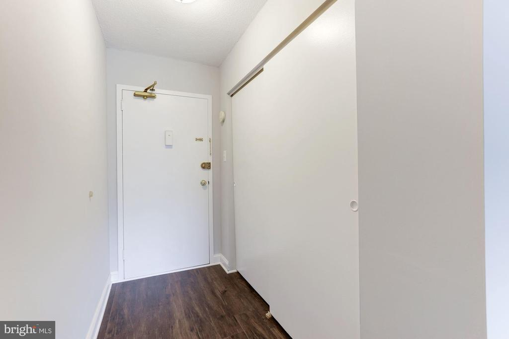 Coat closet in the foyer area - 1300 ARMY NAVY DR #225, ARLINGTON