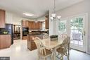 Breakfast rm w/ door to the private deck and yard! - 47317 GRANDVIEW PL, STERLING