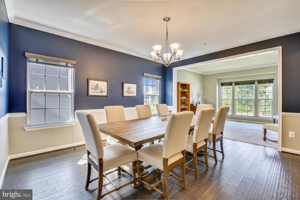 Dining Room for Lg Scale Entertaining - 14425 BENTLEY PARK DR, BURTONSVILLE