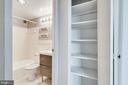 Linen closet - 6621 WAKEFIELD DR #620, ALEXANDRIA