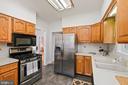 Full kitchen - 1407 WEBSTER ST NW, WASHINGTON