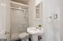 Bathroom - 1407 WEBSTER ST NW, WASHINGTON