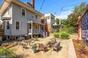 Rear garden - 1407 WEBSTER ST NW, WASHINGTON