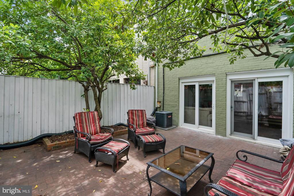 Backyard / Patio - 1014 13TH ST SE, WASHINGTON