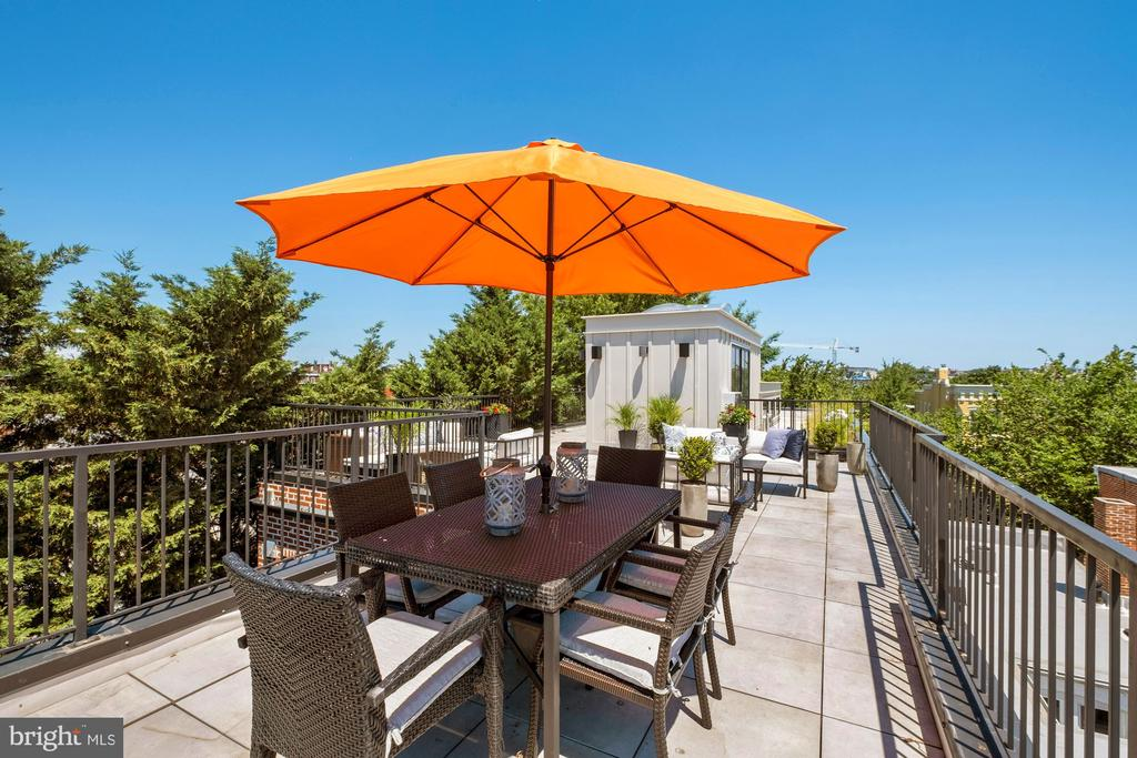 private dining and separate entertaining area - 928 O ST NW #3, WASHINGTON
