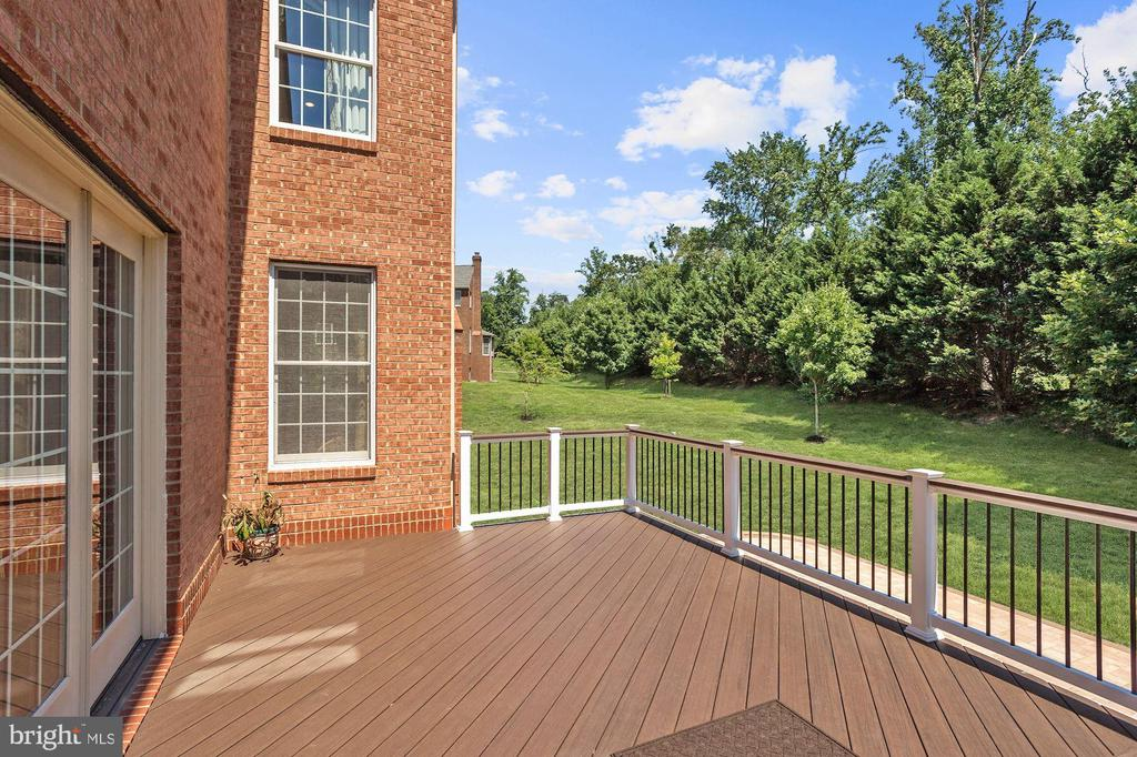 Expansive Deck - 11227 INDEPENDENCE WAY, ELLICOTT CITY