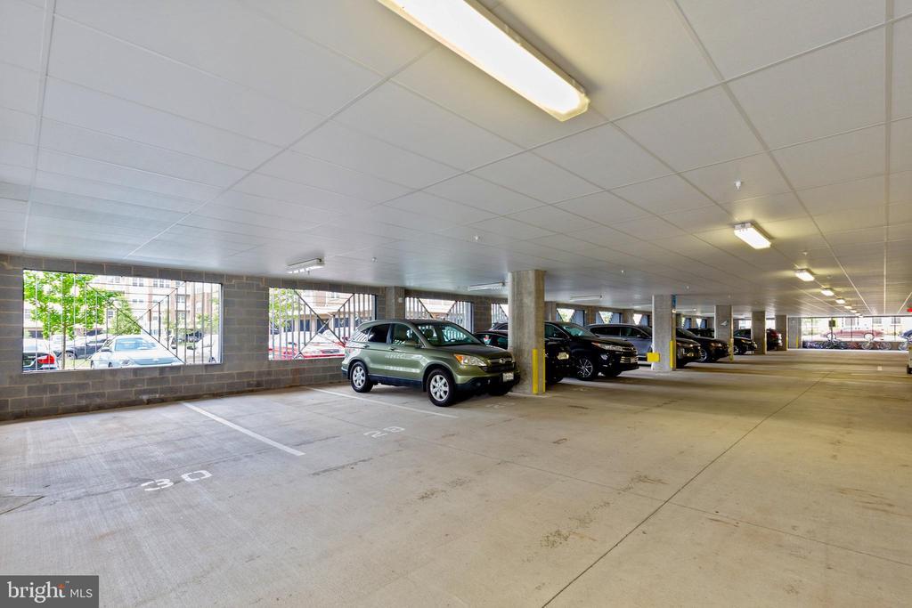 Secure under-building garage stalls - 13740 ENDEAVOUR DR #307, HERNDON