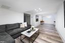 Lower Level Family Room - 2302 KALORAMA RD NW, WASHINGTON