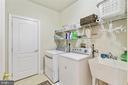 laundry room on upper level - 19072 CRIMSON CLOVER TER, LEESBURG