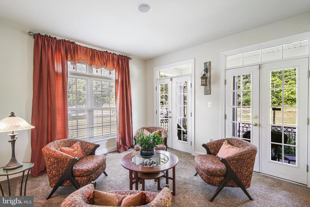Sitting room/office on right upon entering - 19072 CRIMSON CLOVER TER, LEESBURG