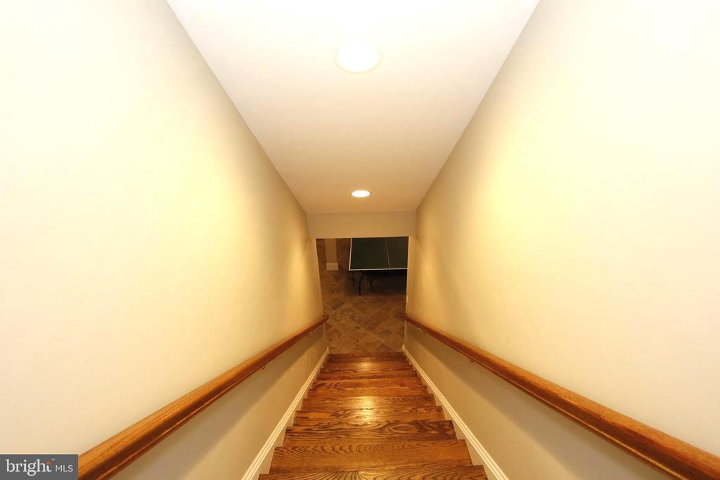 Four foot wide stairway lower level - 20131 DAIRY LN, STERLING