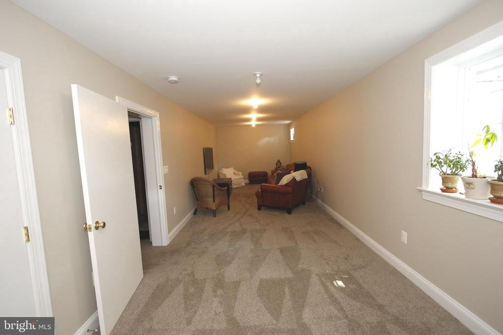 Family Room with plenty of space for Theater Room - 20131 DAIRY LN, STERLING