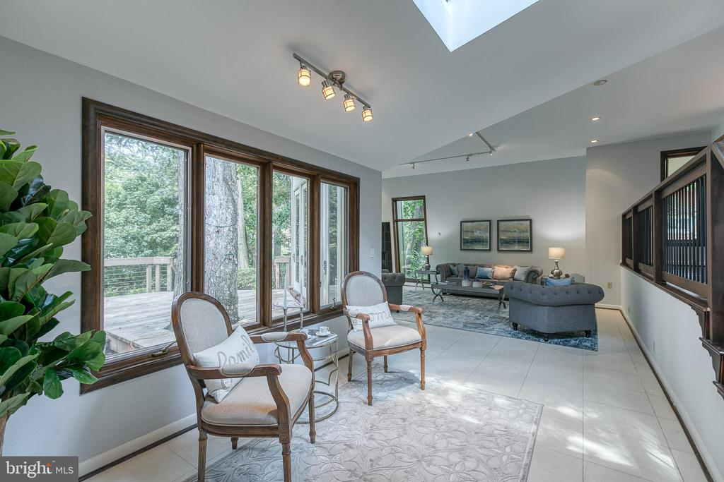 Natural light throughout the main level - 3408 GREENTREE DR, FALLS CHURCH