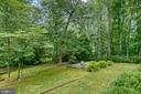 Private wooded backyard, almost half acre lot - 3408 GREENTREE DR, FALLS CHURCH