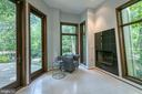 Expansive family room addition with gas fireplace - 3408 GREENTREE DR, FALLS CHURCH