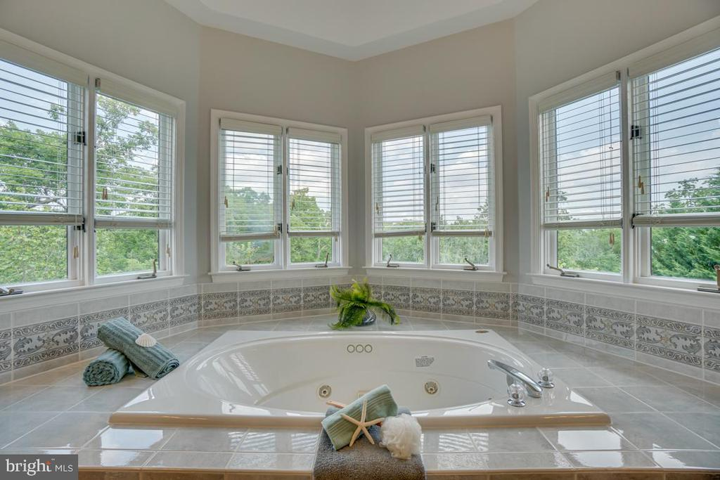 Relax in the jetted tub and enjoy the view - 320 IRONSIDE CV, STAFFORD