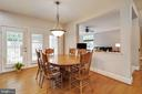 Eat-In Kitchen Table - 3717 STONEWALL MANOR DR, TRIANGLE