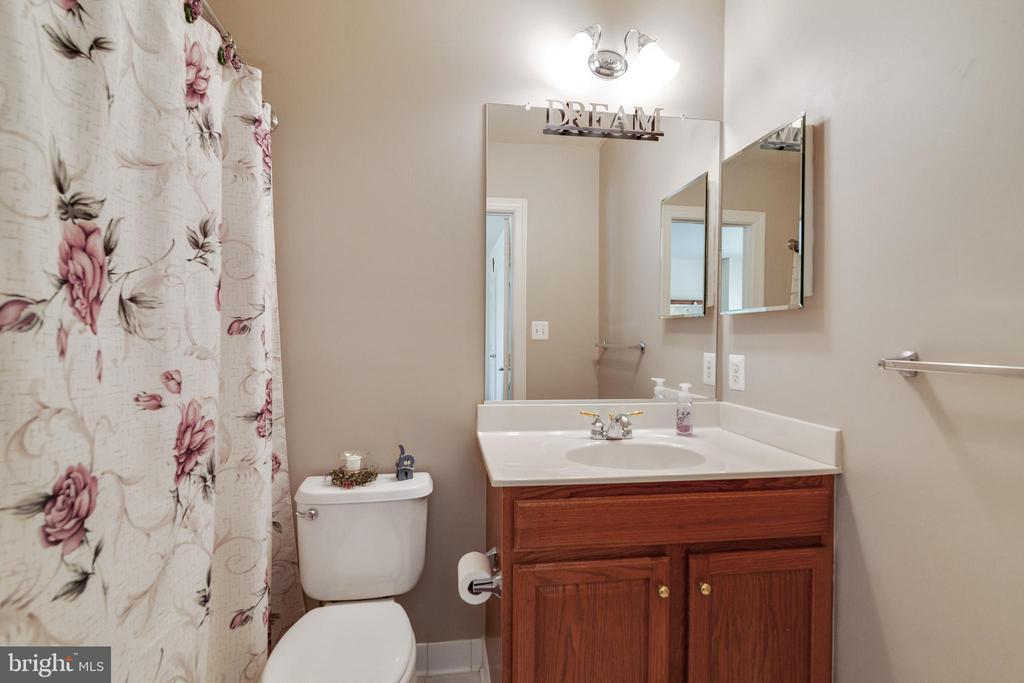Bathroom in Bedroom 2 - 3717 STONEWALL MANOR DR, TRIANGLE