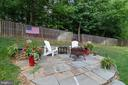 Patio - 3717 STONEWALL MANOR DR, TRIANGLE