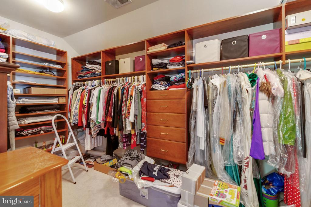 Master Walk-In Closet - 3717 STONEWALL MANOR DR, TRIANGLE