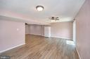 Open large recreation room/walk out to yard - 6 BRANTFORD DR, STAFFORD