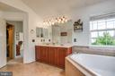 Soaking Tub and Separate Shower - 4843 TOTHILL DR, OLNEY