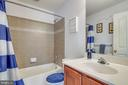 Hall bath - 4843 TOTHILL DR, OLNEY
