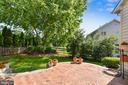 Great backyard for entertaining - 20810 AMBERVIEW CT, ASHBURN