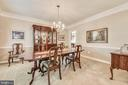 Dining Room - 20810 AMBERVIEW CT, ASHBURN
