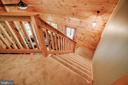 The loft overlooks the living room! - 13533 CATOCTIN HOLLOW RD, THURMONT