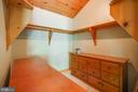 Huge master bedroom walk in closet. - 13533 CATOCTIN HOLLOW RD, THURMONT