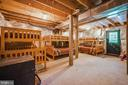Basement could be finished. - 13533 CATOCTIN HOLLOW RD, THURMONT
