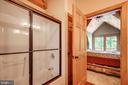 New shower doors in the master bath! - 13533 CATOCTIN HOLLOW RD, THURMONT