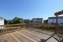 Large deck for relaxing and entertaining - 118 CLAUDE CT SE, LEESBURG