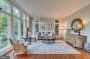 Living room with floor-to-ceiling windows - 43559 FIRESTONE PL, LEESBURG